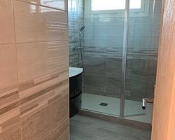 Salle de bain rénovée Dordives vue 1