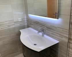 Salle de bain rénovée Dordives vue 2